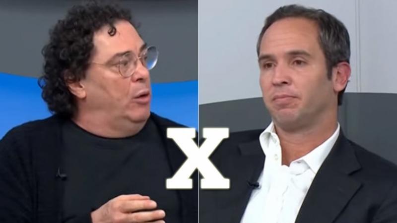 Casagrande e Caio Ribeiro se estranham no 'Bem, Amigos!'