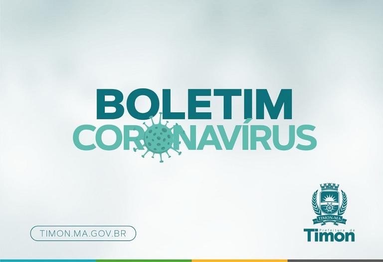 Boletim Epidemiológico da COVID- 19 desta quarta (06) em Timon