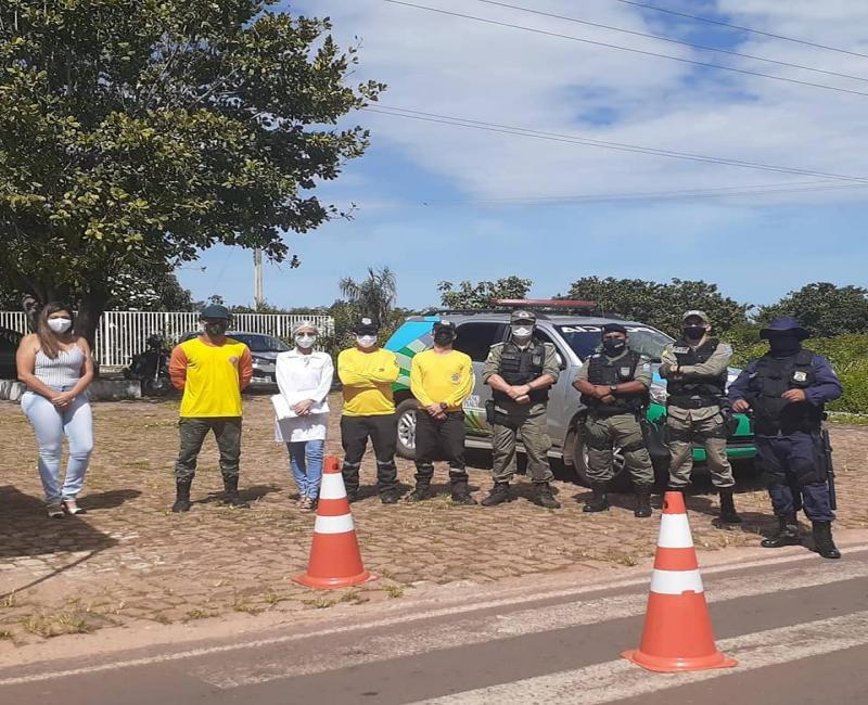 Coronavírus: Prefeitura intensifica ações na barreira sanitária em Cocal