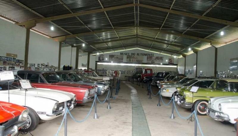 Museu do Automóvel de Floriano, o único do Piauí com carros antigos