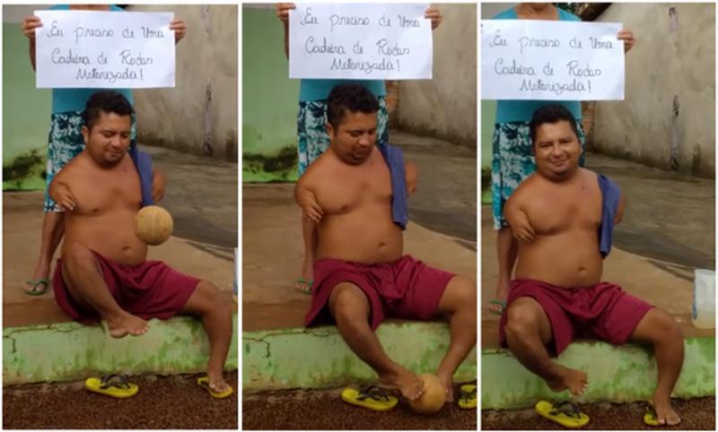 Romário doa camisa autografada para campanha de torcedor cabeceirense