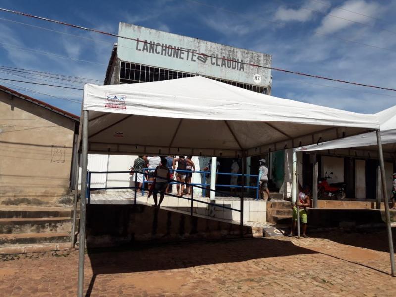 Covid-19: Prefeitura de Cajazeiras aluga tendas para intensificar ações