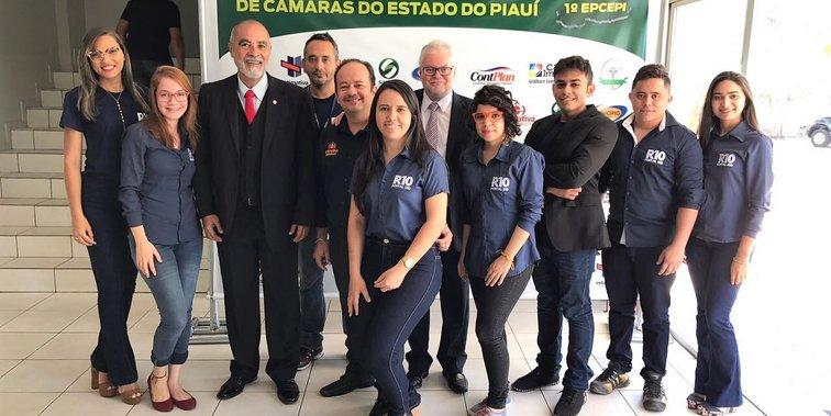 Bastidores do 1º Encontro de Presidentes da Câmara do Piauí em Teresina