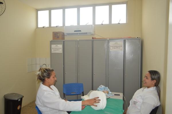 Prefeita Doquinha climatiza UBS e melhora a qualidade no atendimento