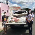 OAB PI e CAAPI doam 600 kg de alimentos e kits de higiene para associações