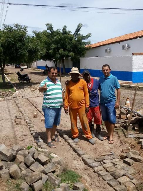 Prefeitura de Pedro Laurentino tem em prática o plano de ação em relação a pavimentação de ruas