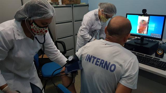Penitenciária de Campo Maior inicia atendimentos médicos por teleconsultas