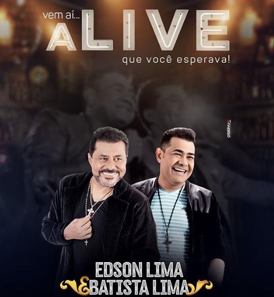 Edson e Batista Lima preparam live juntos