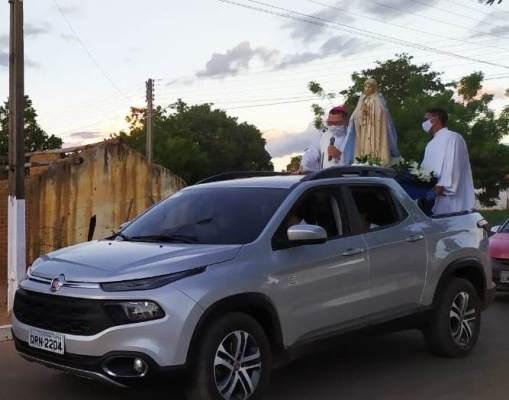 Encerramento do festejo de Nossa Senhora de Fátima em Colônia do Gurgueia
