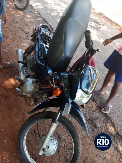PM-PI recupera moto Pop 100 com registro de roubo em N.Sra. dos Remédios-PI