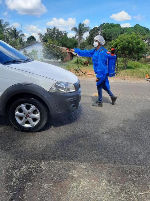 Trabalhos de desinfecção de espaços públicos são intensificados em L S