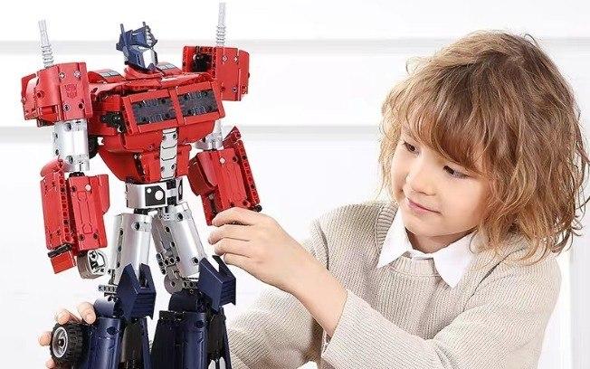 Xiaomi lança robô dos Transformers com mais de 1.200 peças