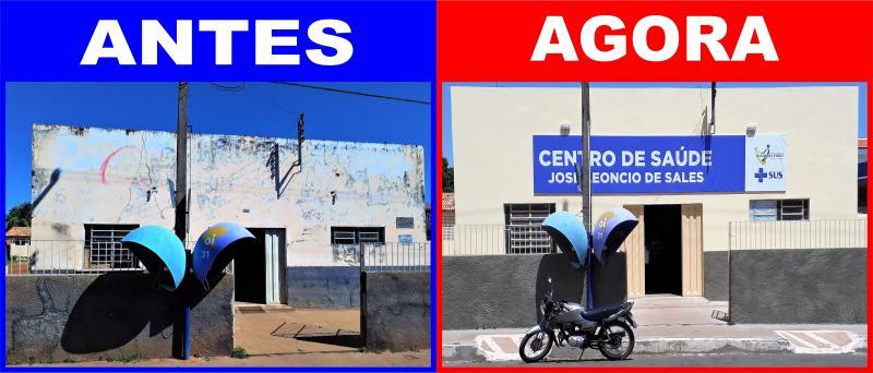 Prefeitura conclui reforma do Centro de Saúde José Leôncio de Sales