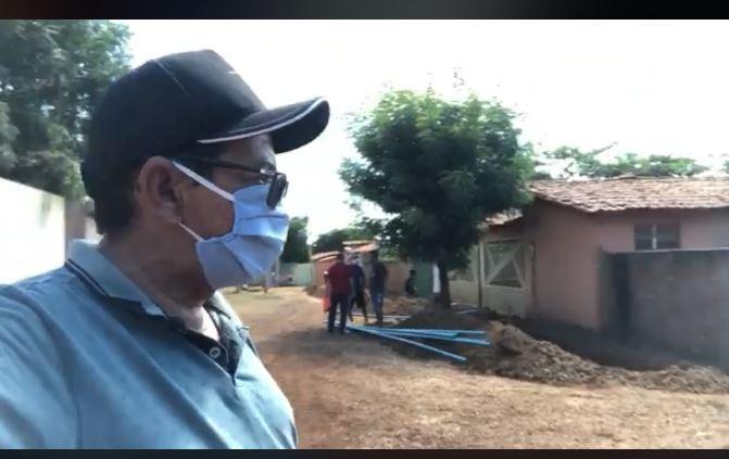 Capitão de Campos: Ampliação do sistema de água do bairro S. C. de Jesus