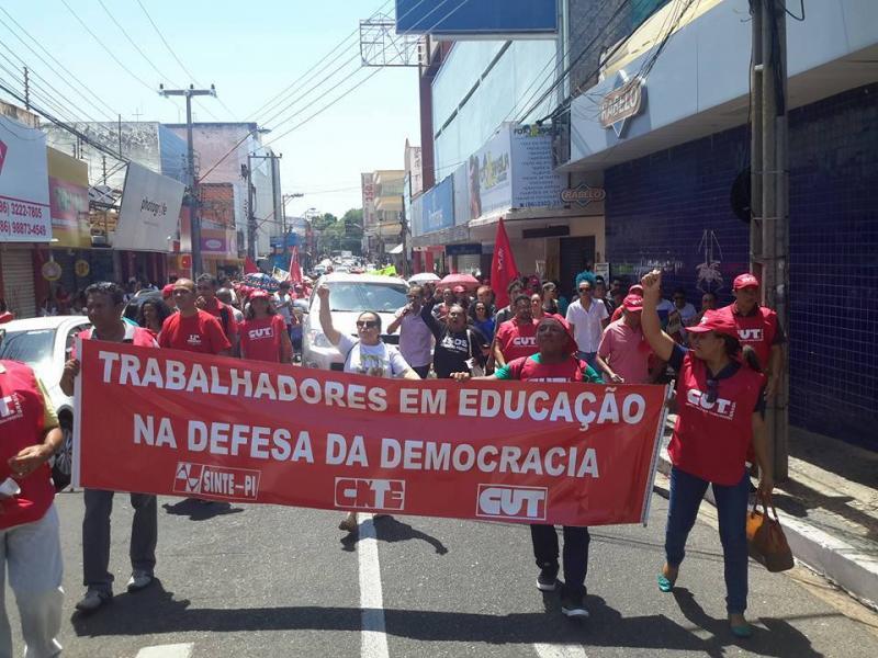Trabalhadores da educação iniciam greve a partir de sexta