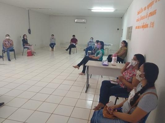 Reunião com professores