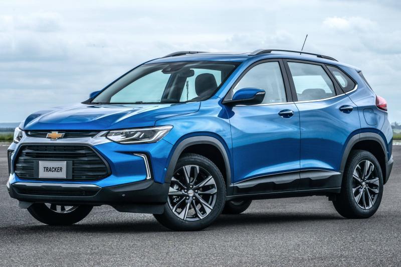 Novo Chevrolet Tracker concentra 80% das vendas nas versões mais caras