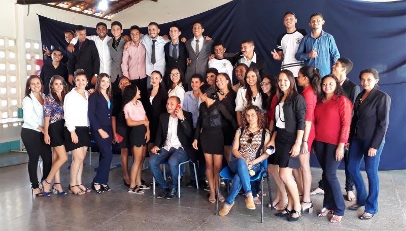 Escola José Mendes Vasconcelos realiza Júri Simulado com alunos do 3º ano do ensino médio