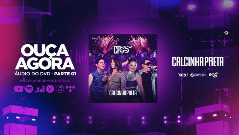 Calcinha Preta divulga primeiro vídeo do novo DVD. Assista!