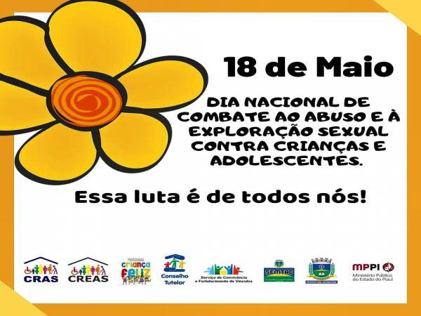 Conselho Tutelar fala sobre o dia nacional de combate ao abuso infantil