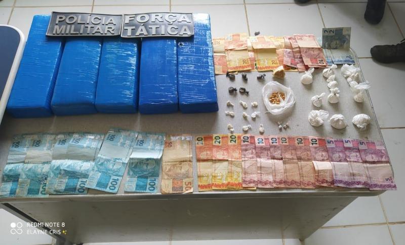Polícia apreende drogas em Paes Landim São M. do Fidalgo e São José Peixe