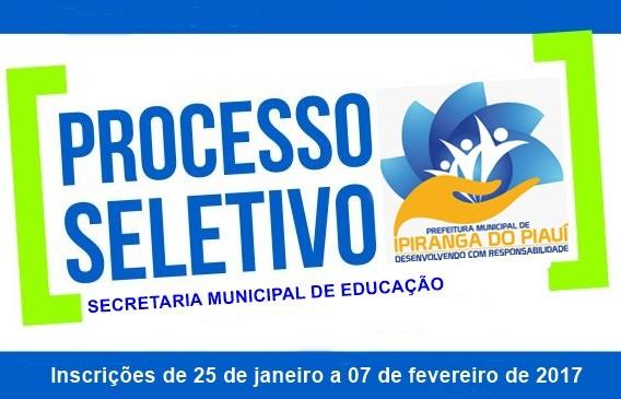 Prefeitura Prorroga Teste Seletivo de 2017