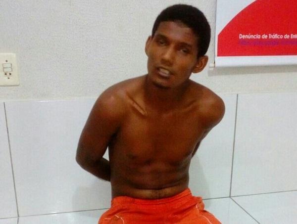 Policia captura agricolandense fugitivo da delegacia de Água Branca