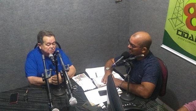 Robert Freitas em entrevista fala de pré  candidatura e Covid - 19