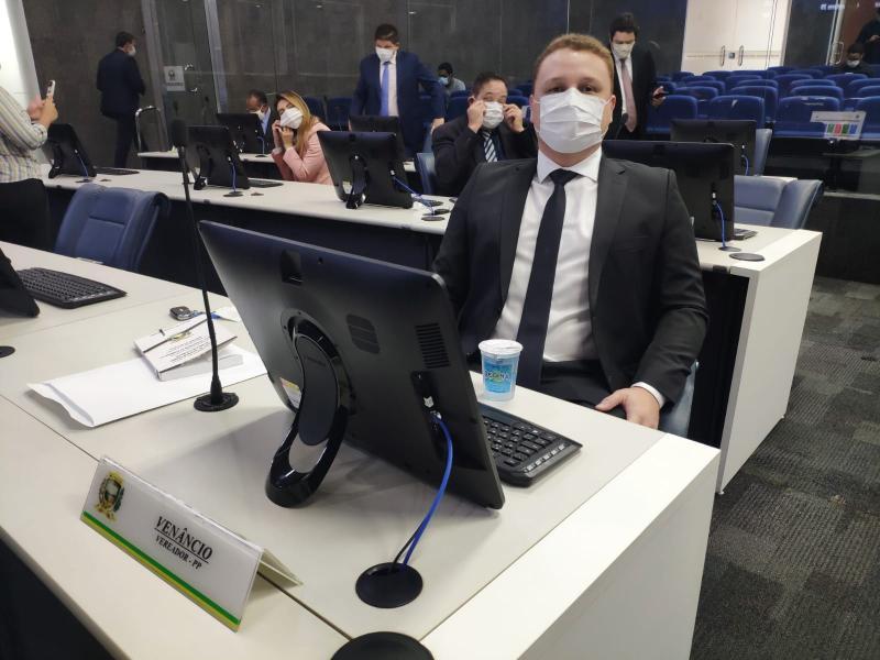 Vereador Venâncio é eleito presidente da comissão da Covid-19