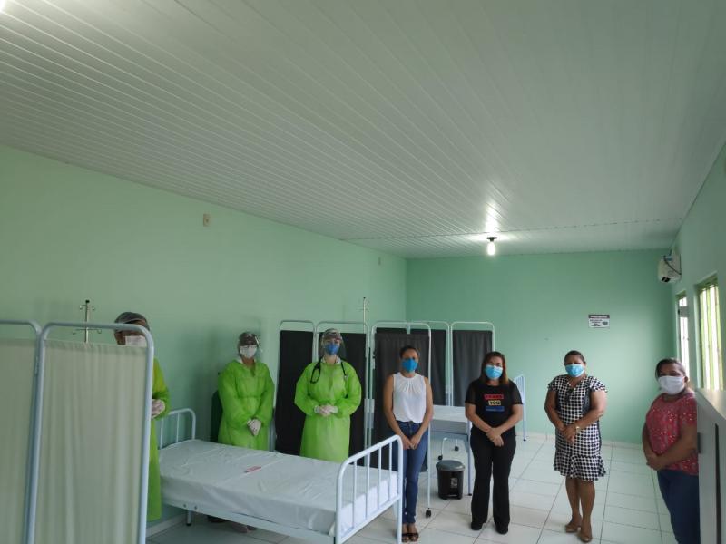São João do Arraial monta estrutura para atender pacientes com covid-19