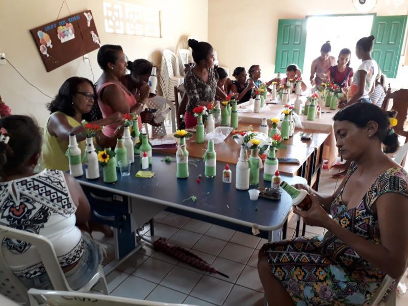 Cursos oferecidos pelo CRAS fortalecem vínculos comunitários em Landri Sales