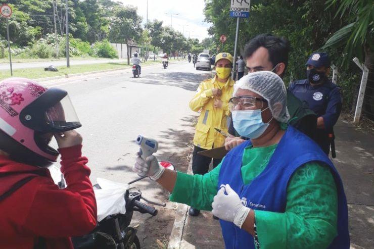 Covid-19: Blitzen sanitárias continuam com fiscalização em Timon