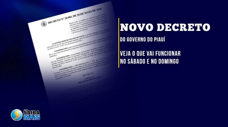 Novo decreto impõe restrições no fim de semana; veja o que funciona