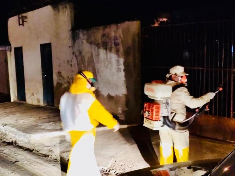 Prefeitura de Corrente controla epidemias do Aedes Aegypti