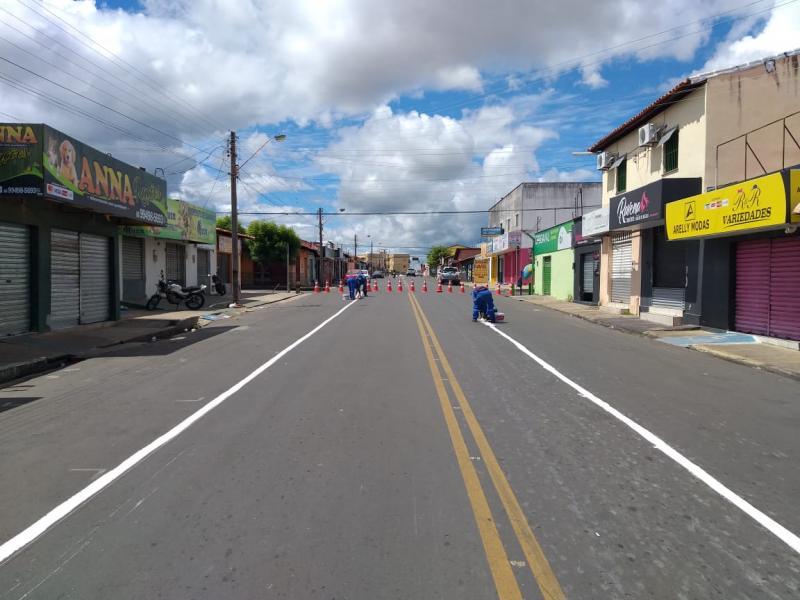 Feira livre do bairro Dirceu é proibida aos domingos