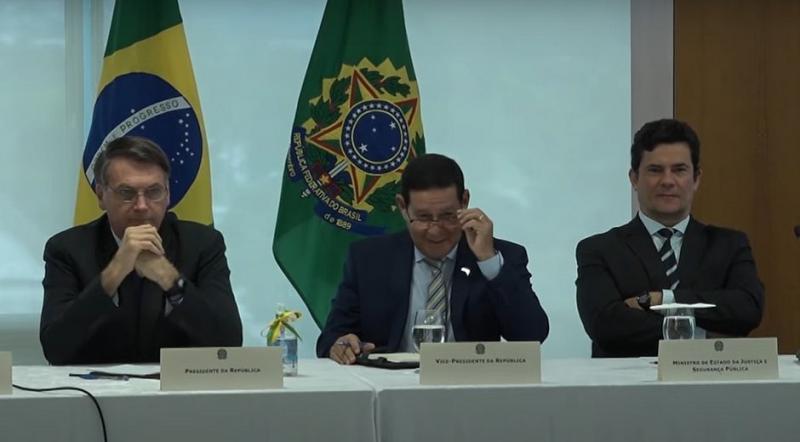 STF libera vídeo de reunião ministerial com Bolsonaro citado por Moro