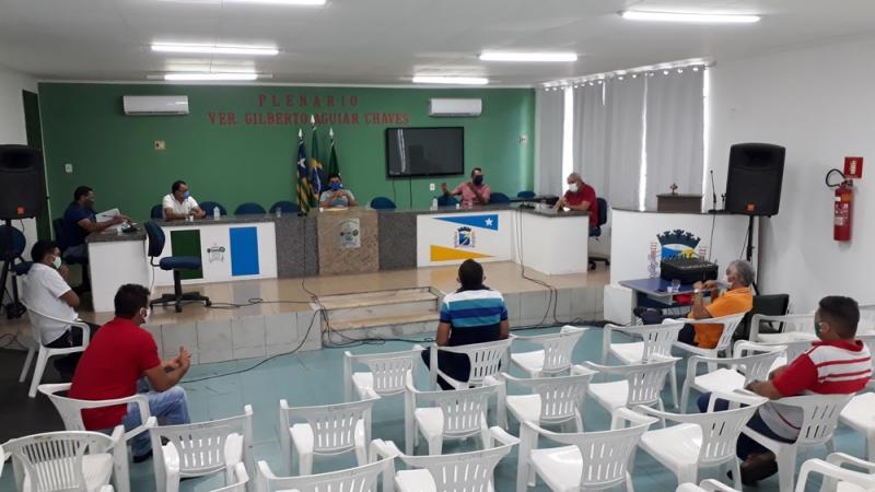 Vereadores se reúnem para discutir e cobrar da PME ações contra o COVID-19