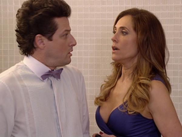 Fina Estampa: Ferdinand descobre que Tereza Cristina dormiu com Pereirinha