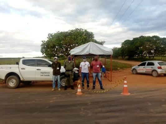 Colônia do Gurgueia intensifica ações com as barreiras sanitárias