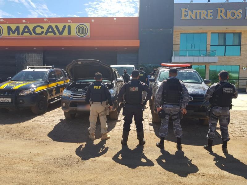 Casal estelionatário é preso em hotel na cidade de Picos