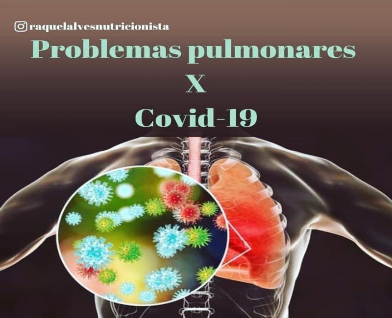 Problemas Pulmonares X Covid-19