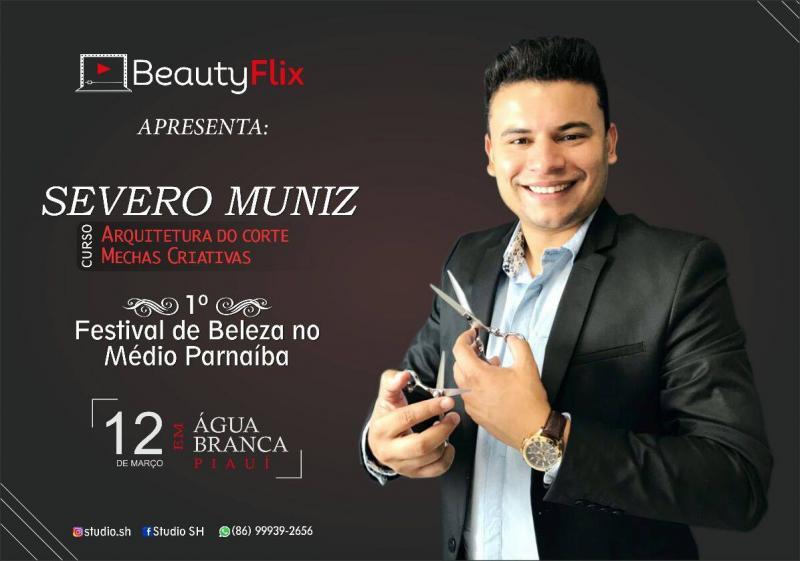 Severo Muniz no primeiro festival de beleza do Médio Parnaíba