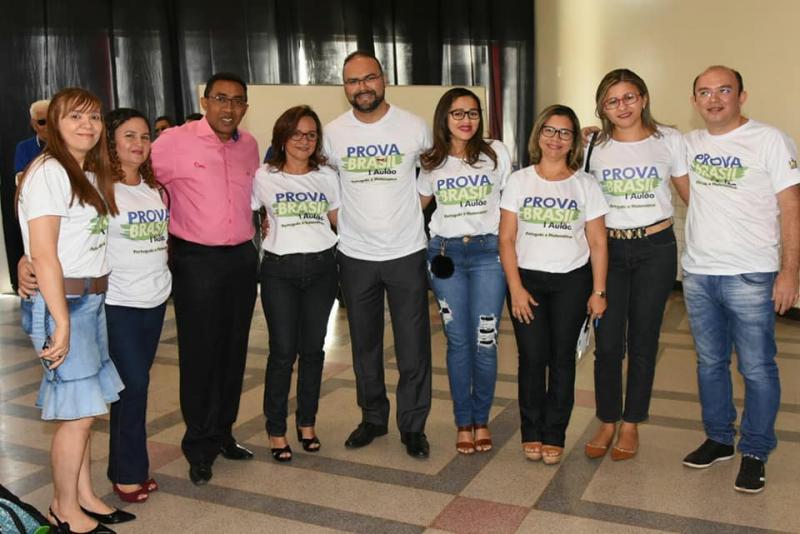 Aulão de Revisão para Prova Brasil mobiliza alunos da Rede Municipal de Ensino