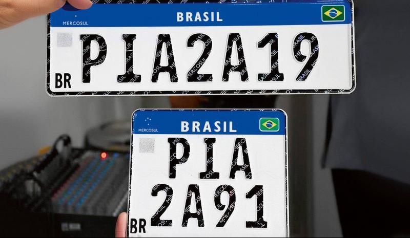 Placa Mercosul: emplacar carro está diferente e mais caro; veja o que muda