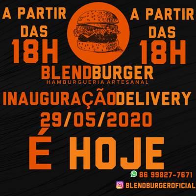 'Blend Burguer Delivery'. Deliciosa inauguração nesta sexta(29) em Timon