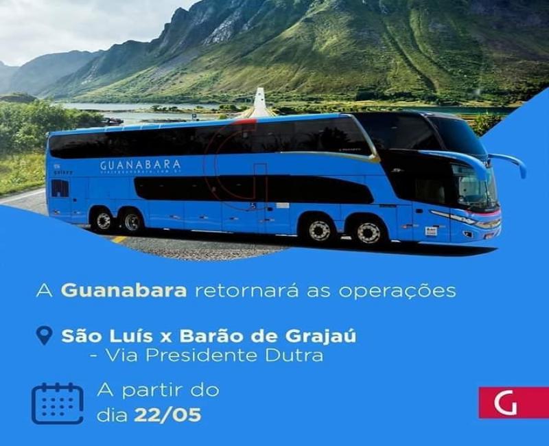 Guanabara retorna as viagens de São João dos Patos para São Luis