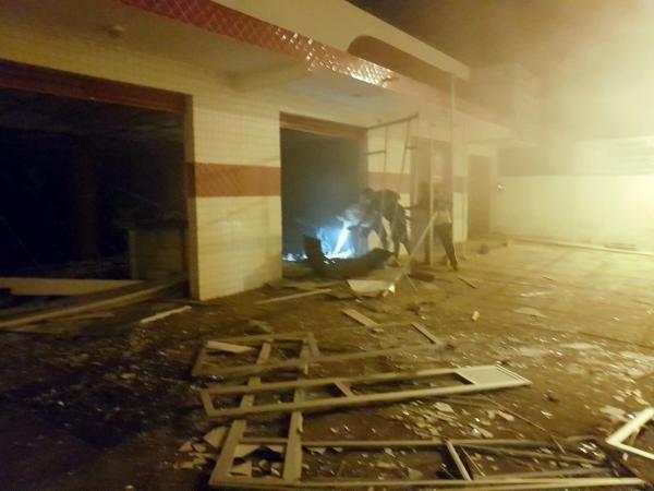 Grupo armado explode agência do Bradesco no Piauí