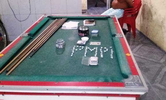 Após denúncia, dono de bar é preso por tráfico de drogas no Piauí
