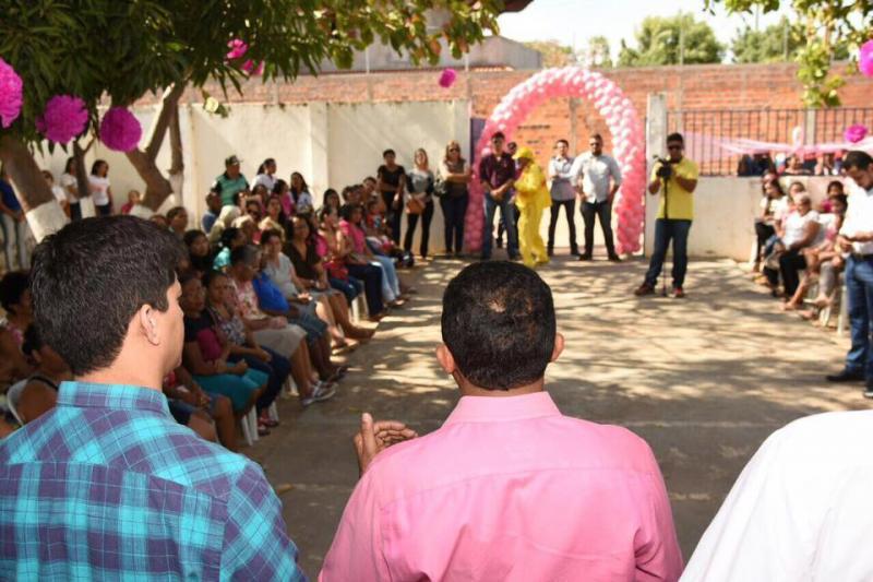 Prefeitura realiza abertura oficial do Outubro Rosa