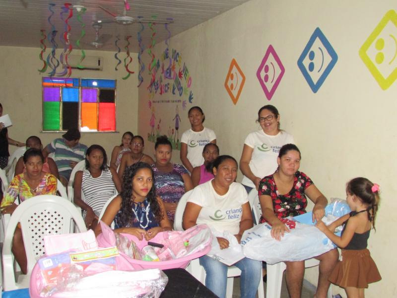 CRAS promove reunião com grupo de gestantes do serviço de proteção e atendimento integral a família